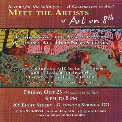Oct 25th Meet the Artists